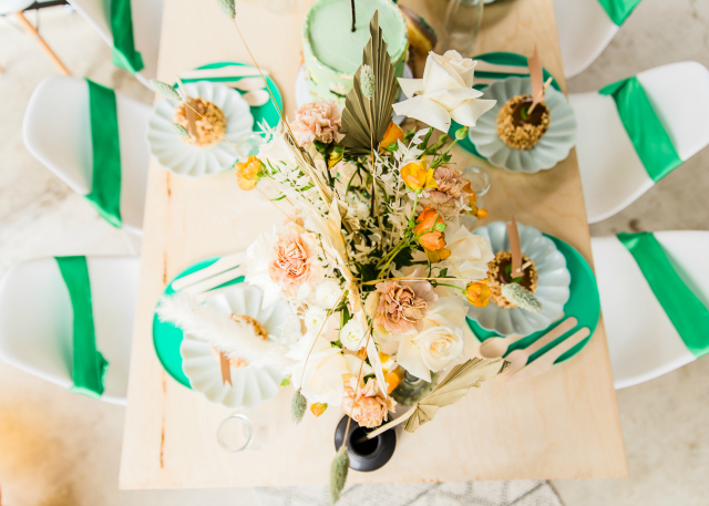 Girl Scout Themed Tablescape