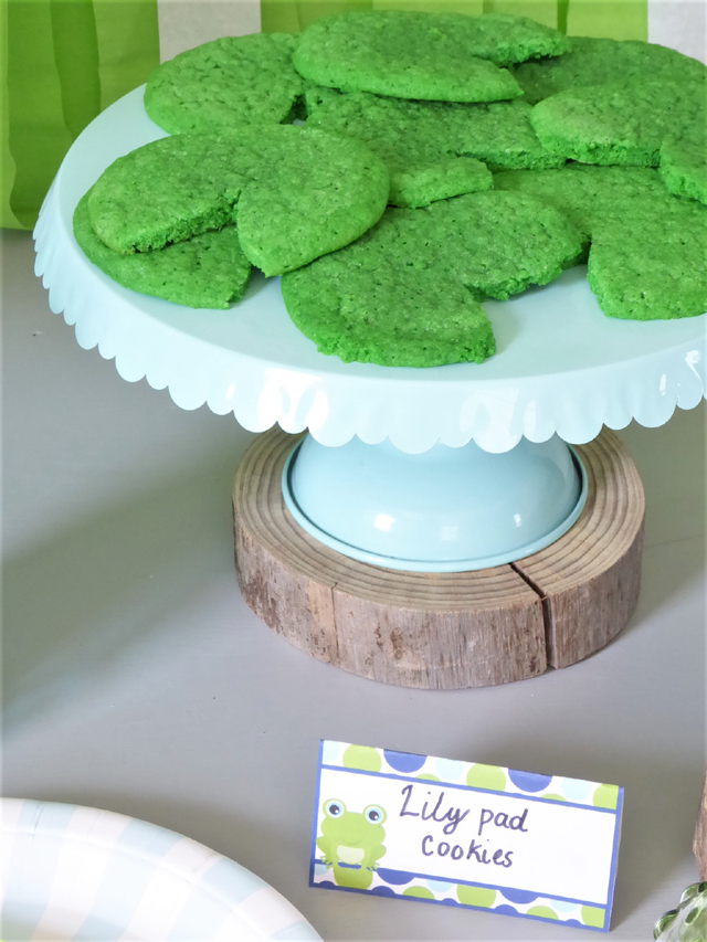 Lily Pad Cookies