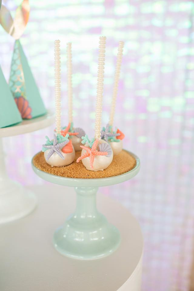 Mermaid Under the Sea Cake Pops