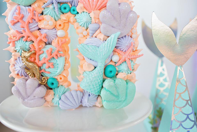 Mermaid Cookie Cake