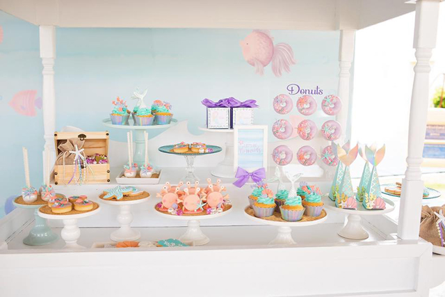 Mermaid Birthday Dessert Ideas