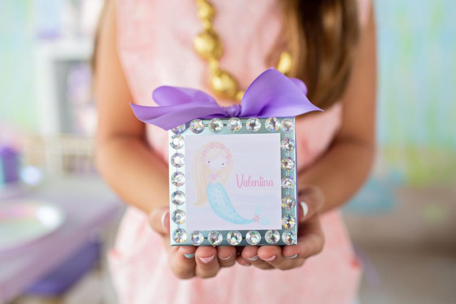 Personalized Mermaid Boxes