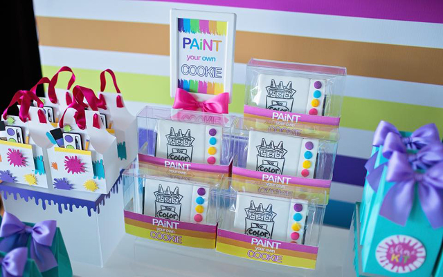 Paint Your Own Cookie Party Activity