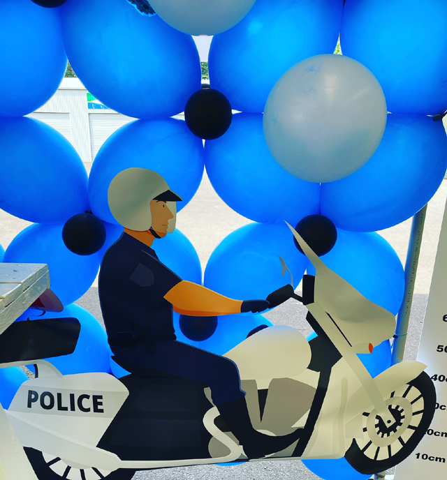 Police Party Decorations
