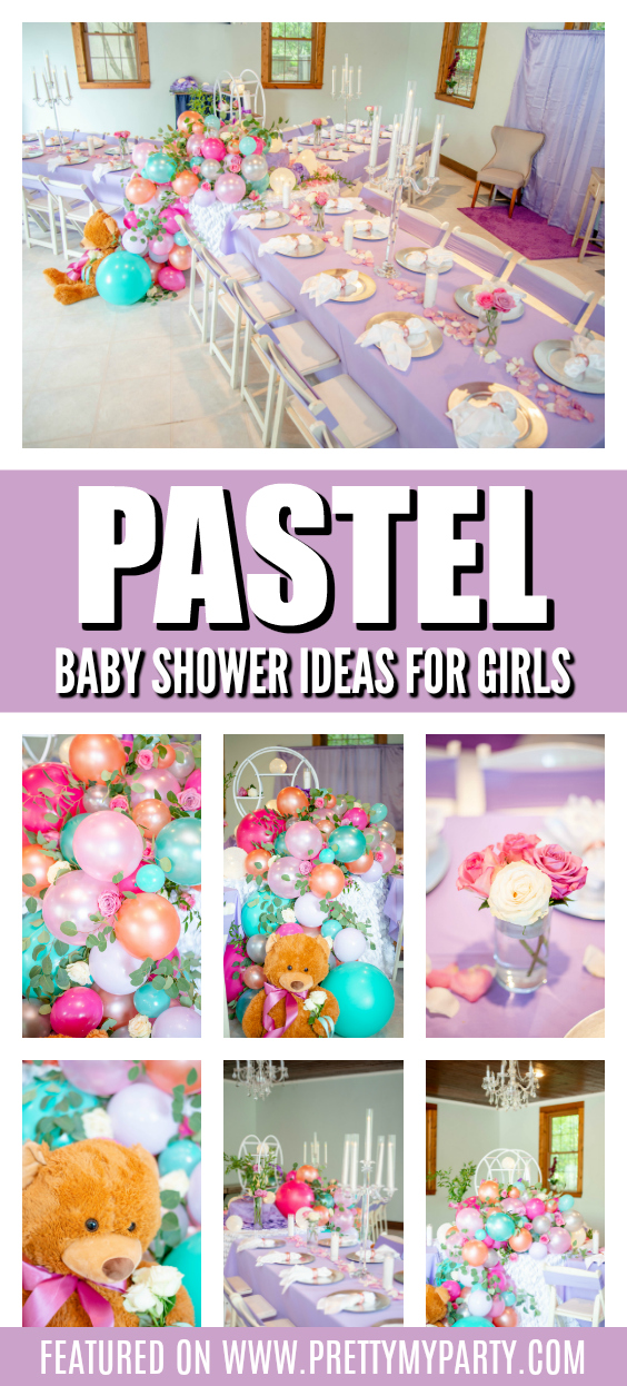 Pretty Pastel Baby Shower Ideas on Pretty My Party