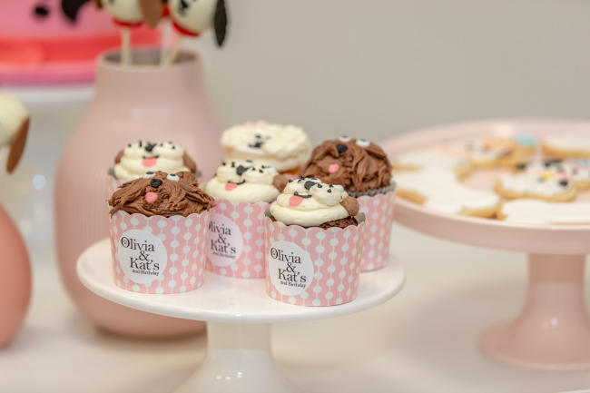 Pink Puppy Party Pupcakes Cupcakes