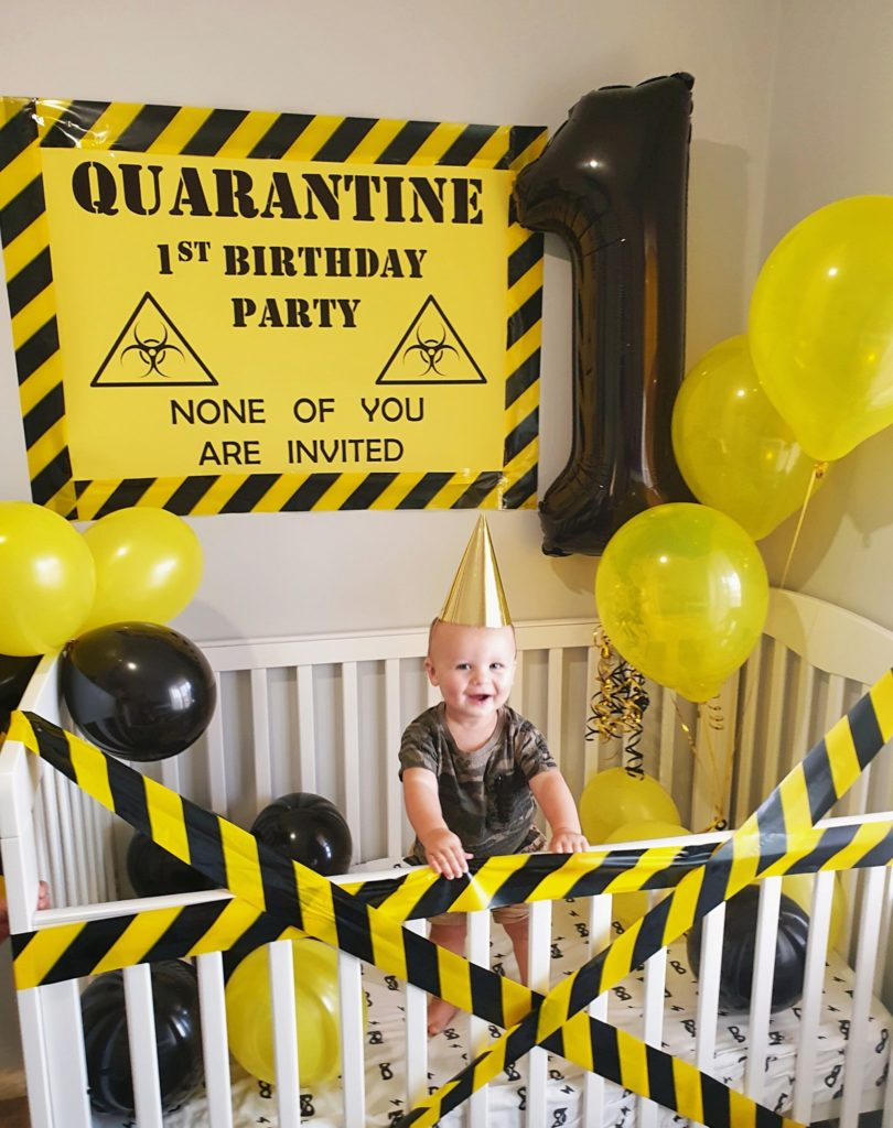 Quarantine Party Ideas on Pretty My Party