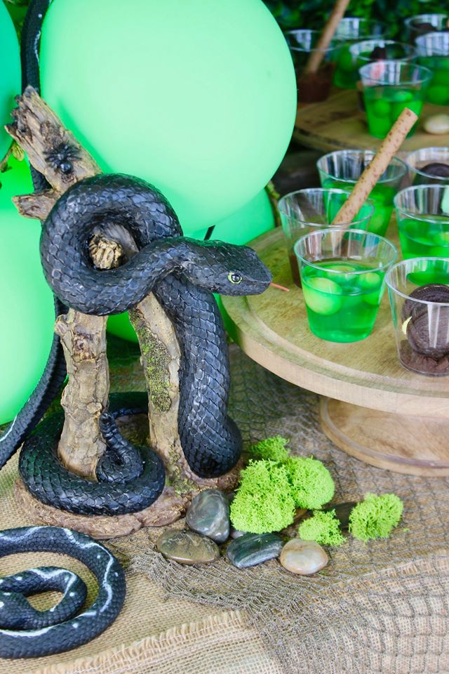 Bug and Reptile Party Snake Decor
