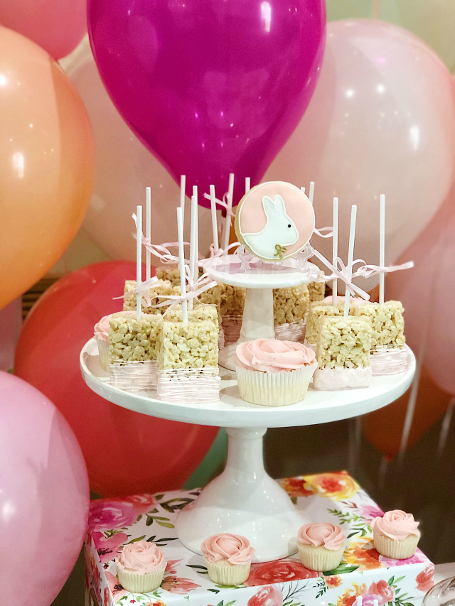 Bunny Themed Party Desserts