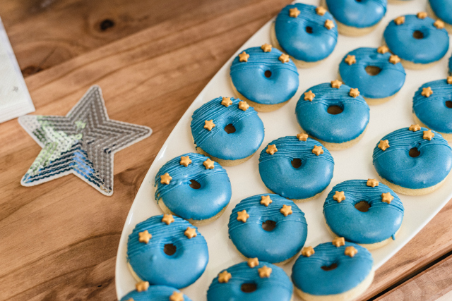 Space Party Donuts
