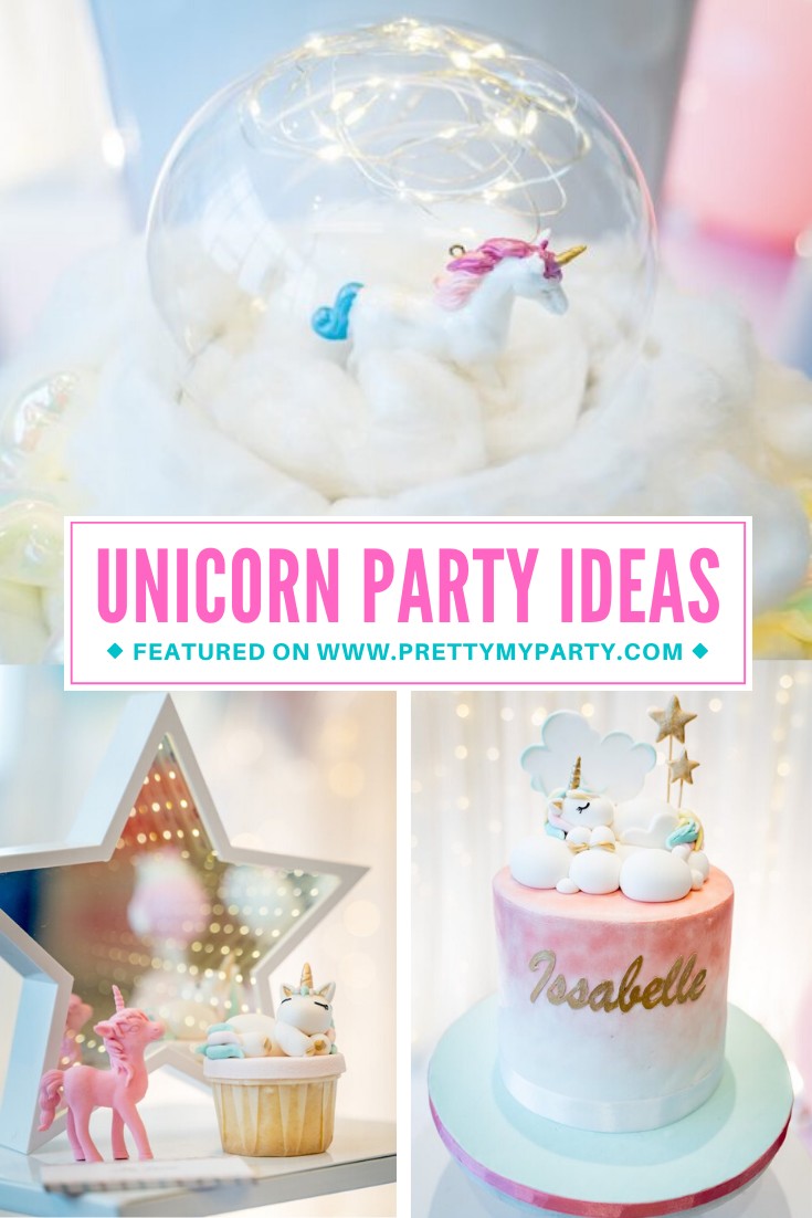 Unicorn Full Moon Party on Pretty My Party