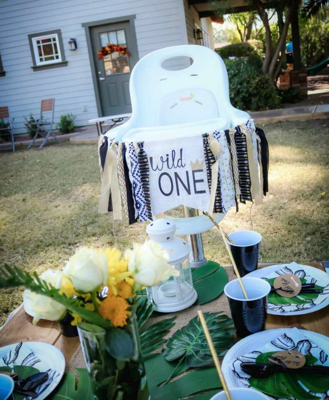 Wild One Theme 1st Birthday Party Ideas