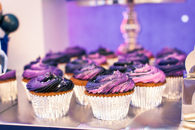 Space Galaxy Cupcakes