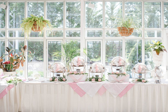 Gorgeous Blush Pink Bridal Shower
