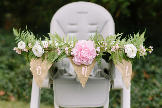 Dreamy Boho 1st Birthday Party One High Chair Banner