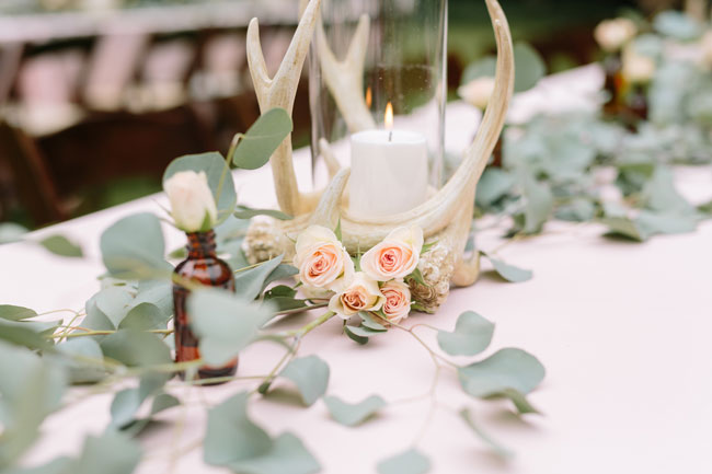Dreamy Boho 1st Birthday Party Table Centerpieces