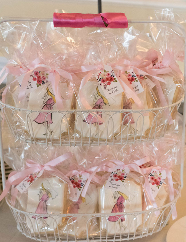 Rose Before the Big Day Bridal Shower Cookies