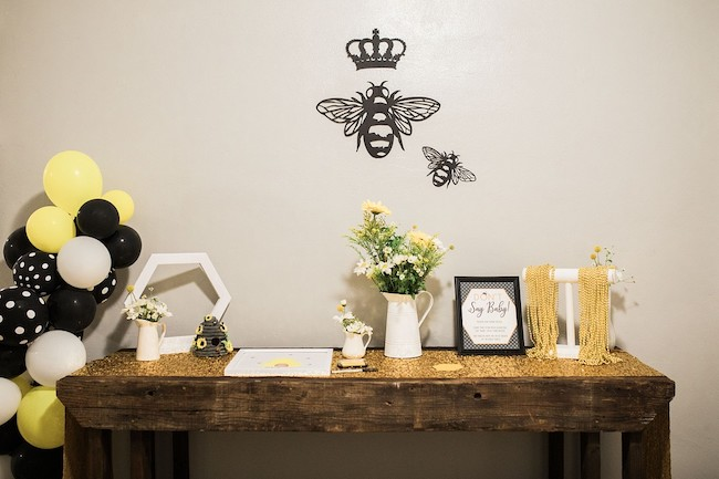 Bee Theme Baby Shower Ideas