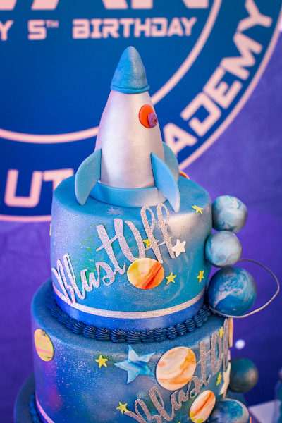 Space Party Cake
