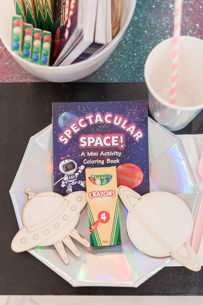 Space Coloring Activity