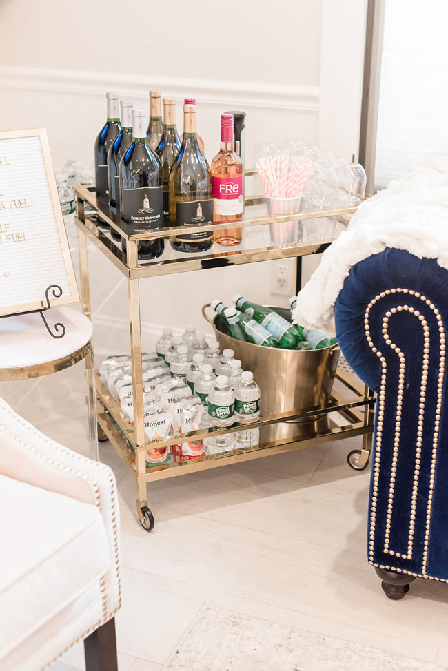 Space Party Beverage Cart