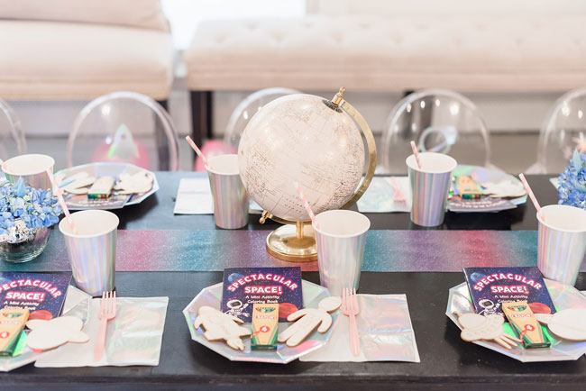 Space Party Globe Centerpiece