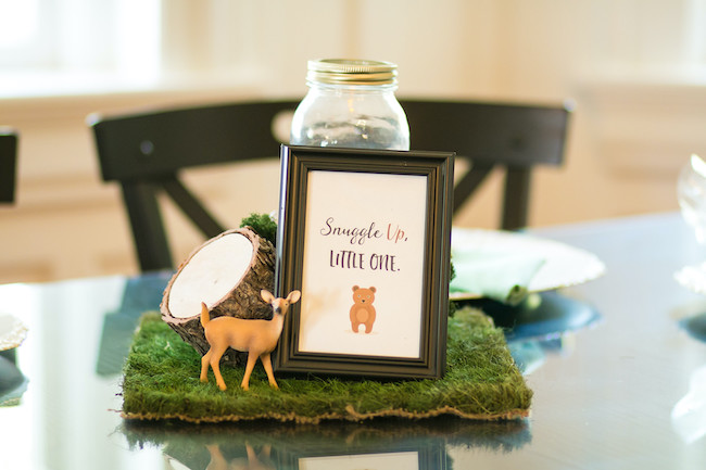 Woodland Animals Centerpieces