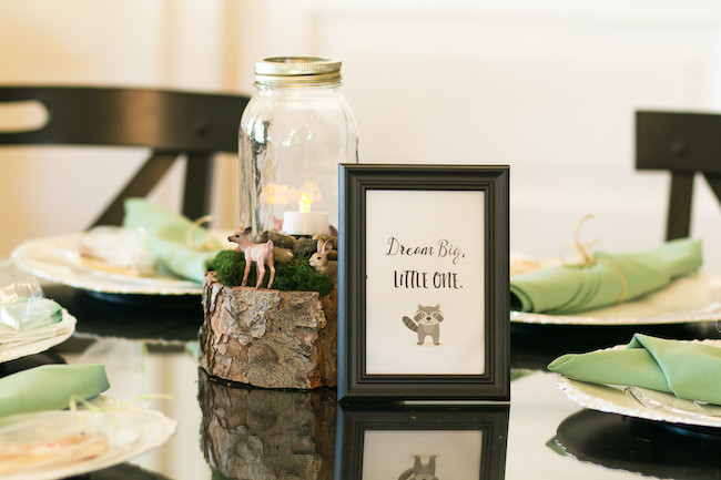 Woodland Themed Centerpiece