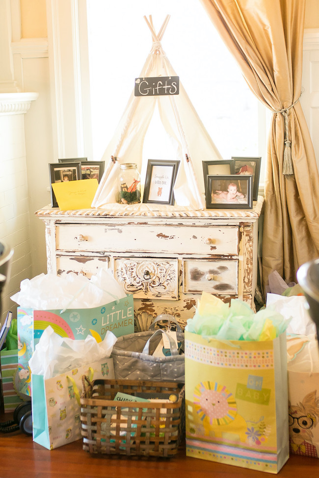 Gift Area With Tent