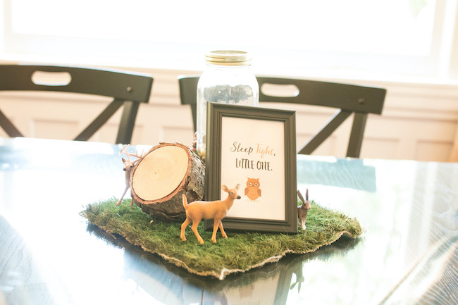 Woodland Animal Centerpieces