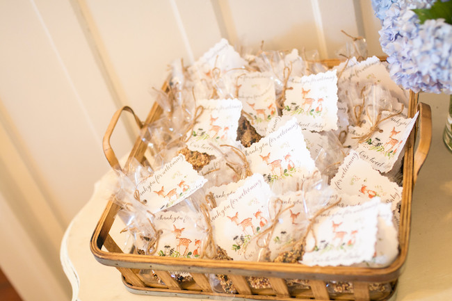 Woodland Animal Baby Shower Favors