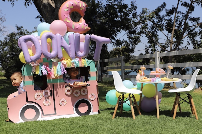 Donut Worry Be Happy Party on Pretty My Party