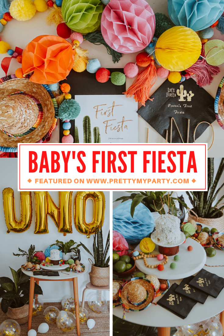 Virtual First Fiesta on Pretty My Party