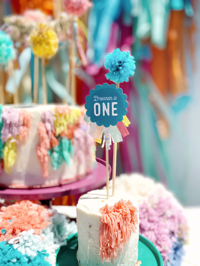 Anthropologie Inspired 1st Birthday