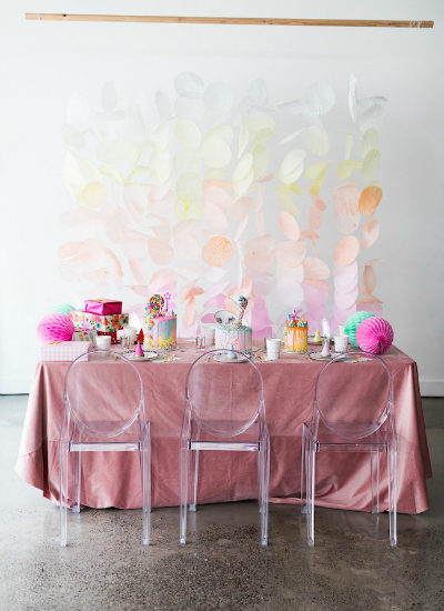 Colorful Cocktail Party