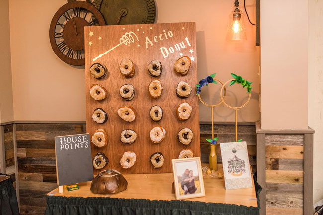 Magical Harry Potter Bridal Shower Donut Wall Stand