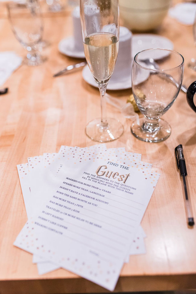 Magical Harry Potter Bridal Shower Find the Guest Game