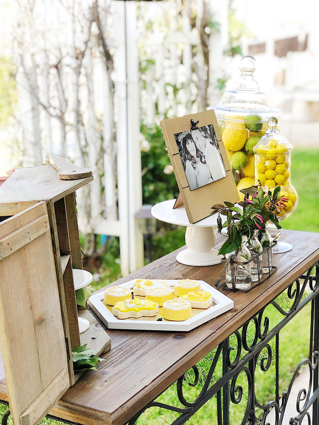 Lemon Themed Baby Shower