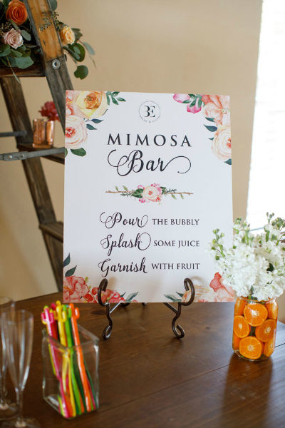 Southwest Themed Bridal Shower