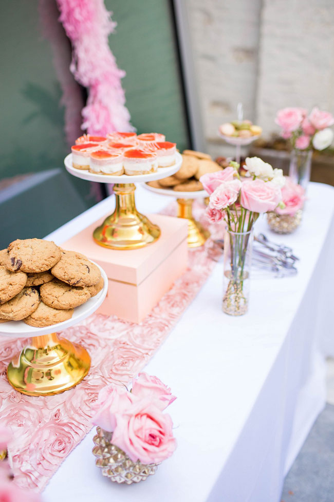 Girly Pink Bridal Shower