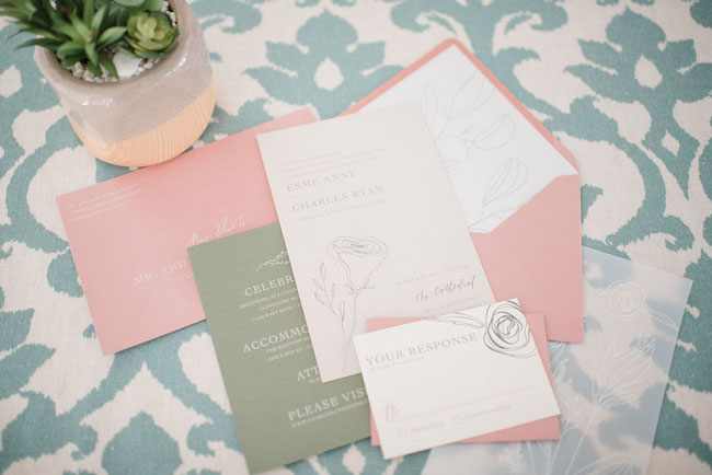 Clean Pastel Outdoor Bridal Shower