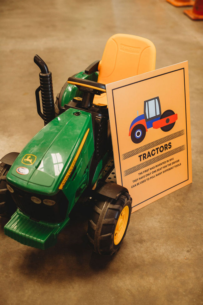 Girl Themed Tractor Birthday Party
