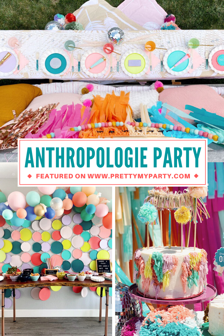 Anthropologie Inspired 1st Birthday on Pretty My Party