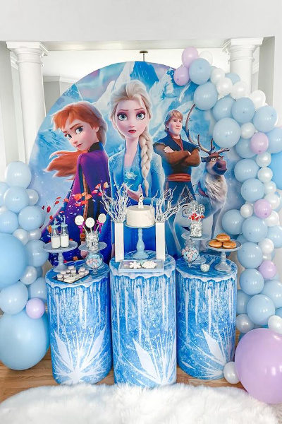 Frozen Theme Sleepover Party
