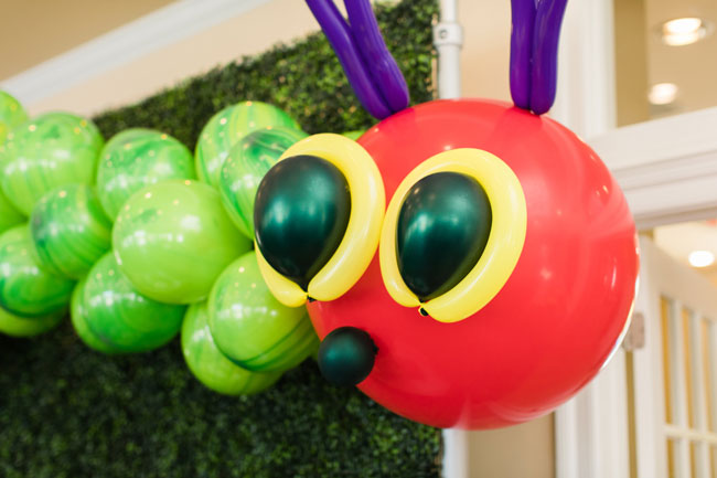 Very Hungry Caterpillar Party Balloons