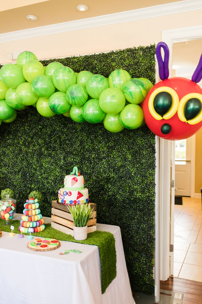 Very Hungry Caterpillar Themed Party