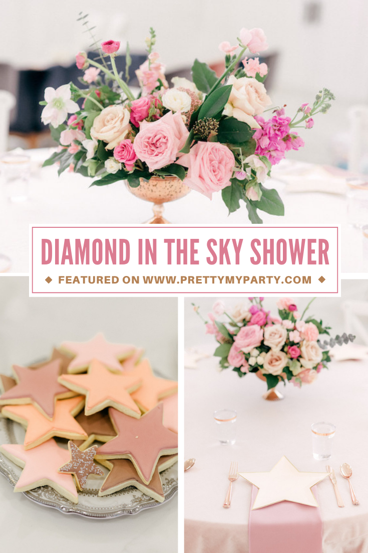A Diamond In The Sky Baby Shower on Pretty My Party
