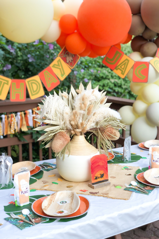 Boho Lion King Party