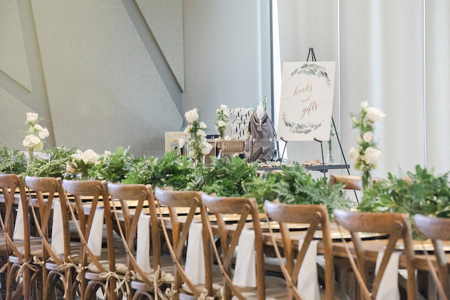 Modern Woodsy Themed Baby Shower
