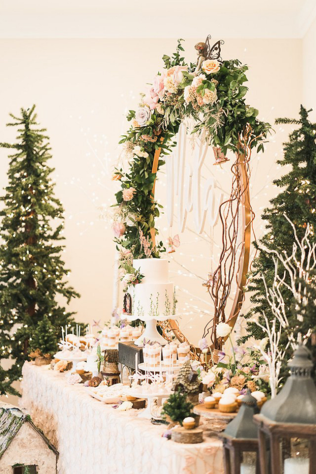 Fairy Garden Party Dessert Table